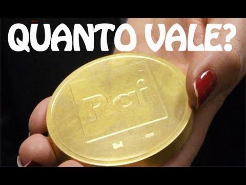 valore gettoni oro
