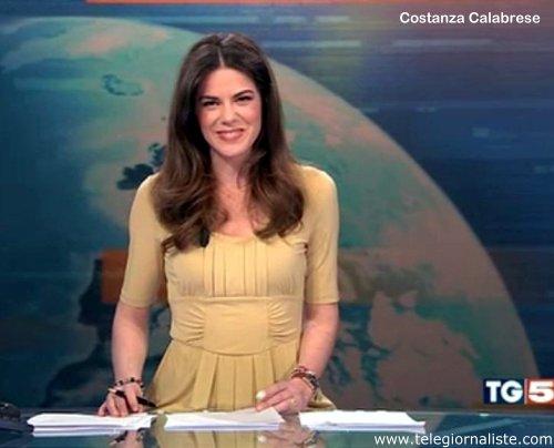 Costanza Calabrese TG5