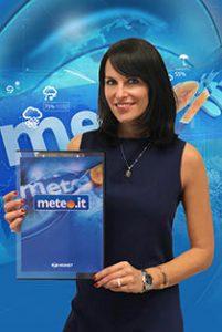 Stefania Andriola meteo tg5