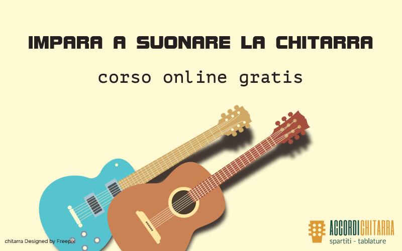 Corso Chitarra oline